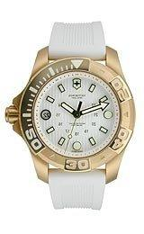Victorinox Swiss Army Dive Master White Dial White Rubber