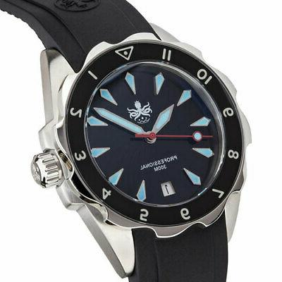 PHOIBOS Dive Watch, Sapphire Crystal, Movement