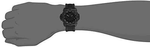 Luminox Men's 3051.BO Seal 3050 Quartz Band, Black Watch