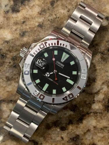 7002 40mm submariner yachtmaster dive watch mod