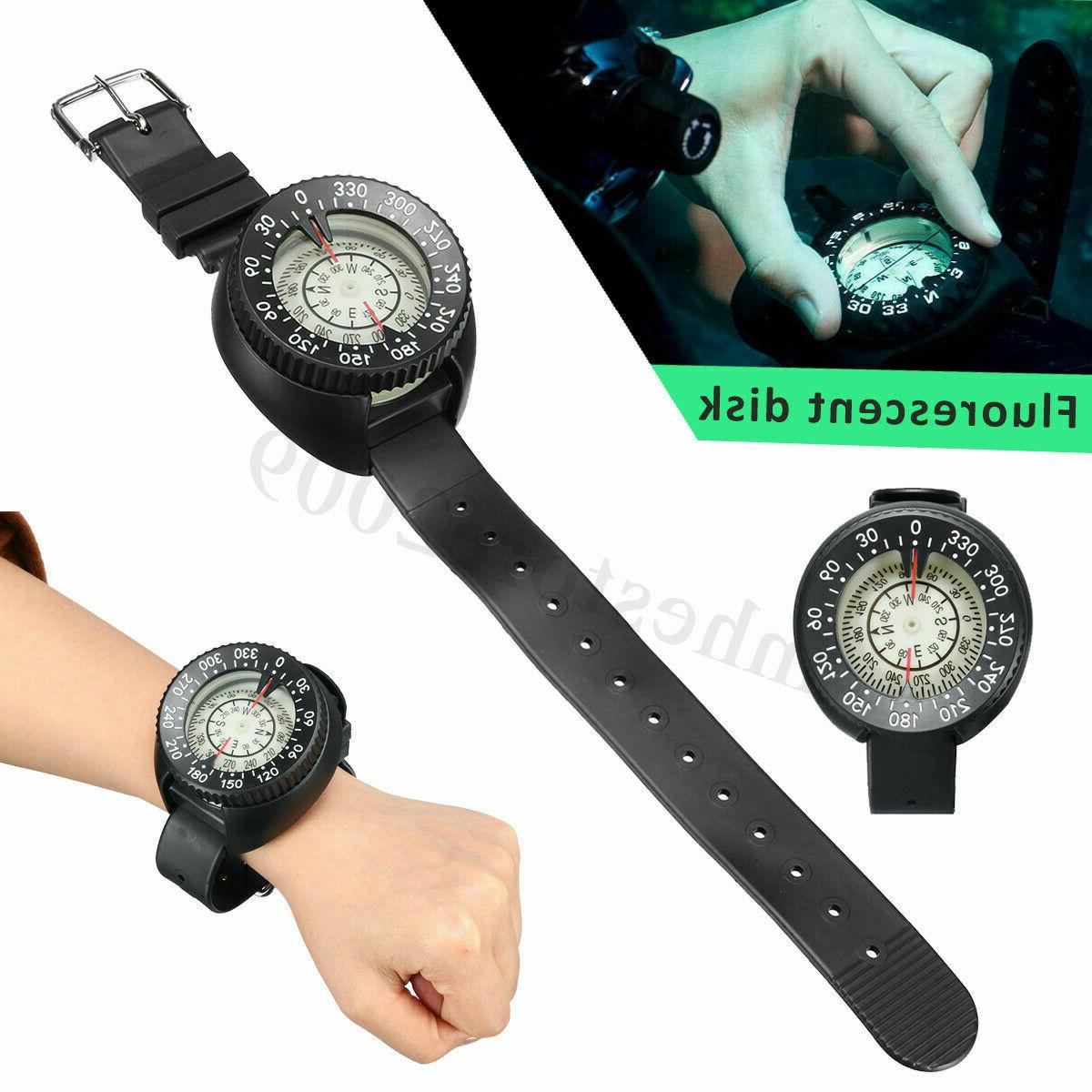 50m 164ft compass watch led wrist watches