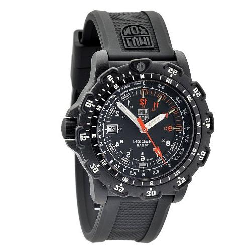 Luminox Men's 8821.KM Pointman Rubber Band, With Multi Color Watch