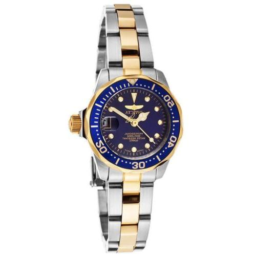 Invicta Lady's Tone Bracelet Quartz Dive
