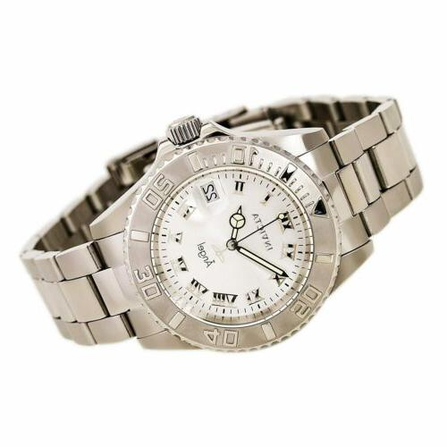 Invicta Watch Angel Quartz Silver Tone