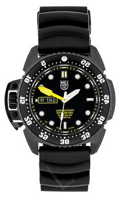 Luminox Deep Dive 1520 Series Rubber Swiss Automatic Black M