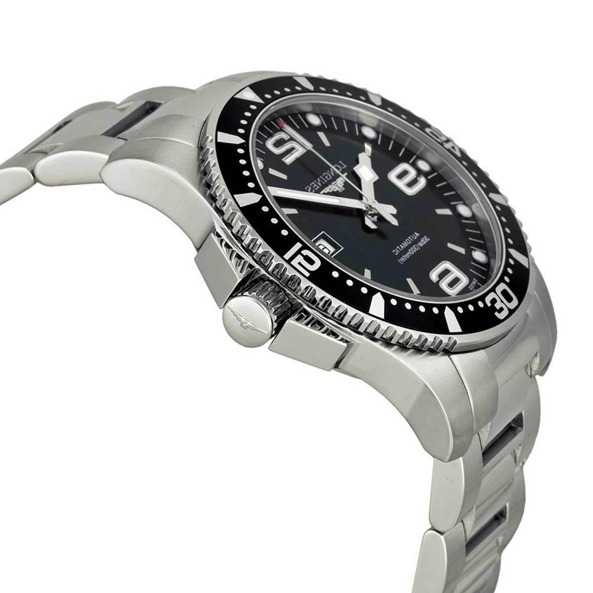 New Longines Hydroconquest Dial Automatic Steel Dive