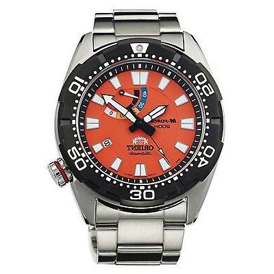 """ORIENT M-FORCE """"Bravo"""" Diving Sports Automatic Power Reserve"""