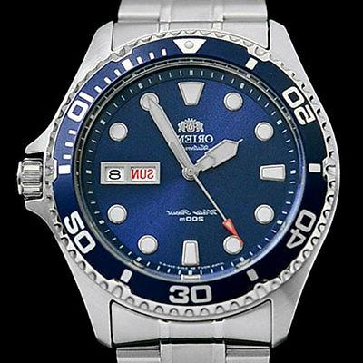 Orient Automatic, Wind, Dive Watch #AA02005D, FAA02005D