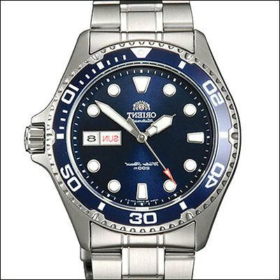 Orient Blue RAY II Automatic, Hand Wind, Hacks, Dive Watch #
