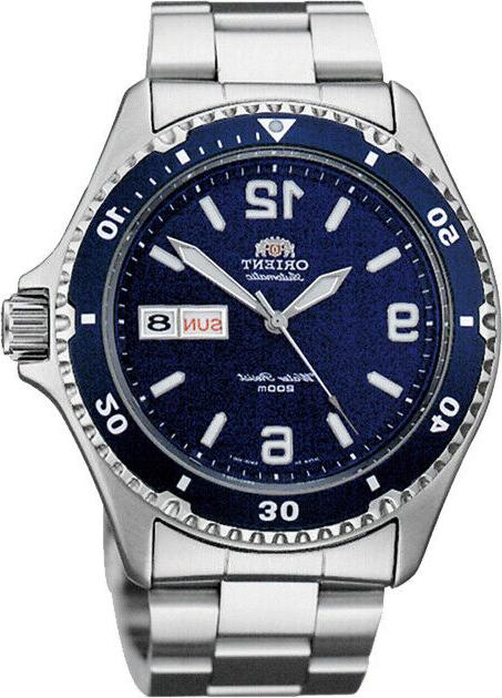 Orient Men's 'Mako II' Japanese Automatic S. Steel Diving Wa