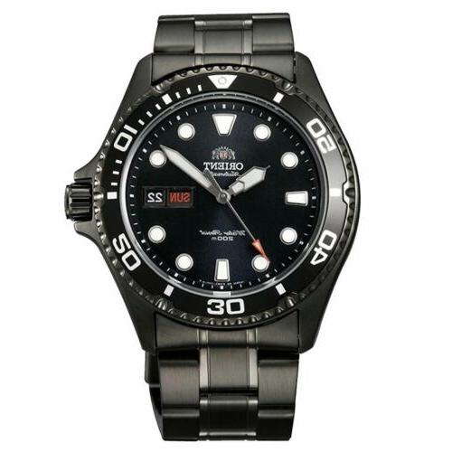 aa02003b men s automatic black dial black