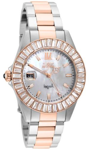 INVICTA WOMEN'S ANGEL ROSE GOLD-TONE STEEL BRACELET & CASE Q