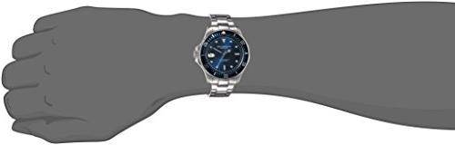 Stuhrling Original Dive - Analog Waterproof Sports Watch - Display Wrist for Men Waterproof Watch with Stainless Steel