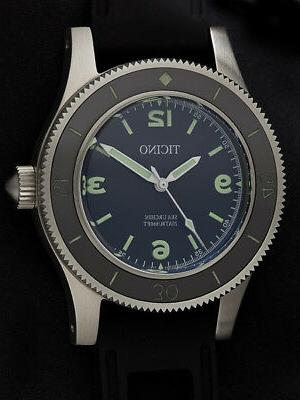 automatic vintage sea urchin dive watch submariner