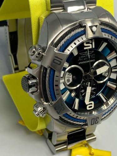 Invicta Bolt Cable ChronographSapphire Blue Link