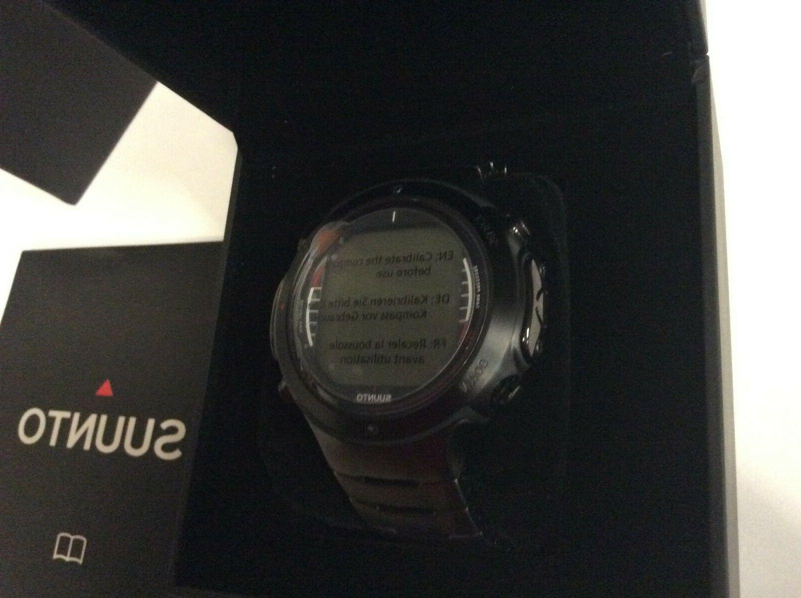 Suunto Dive Computer Watch Black Steel Bracelet