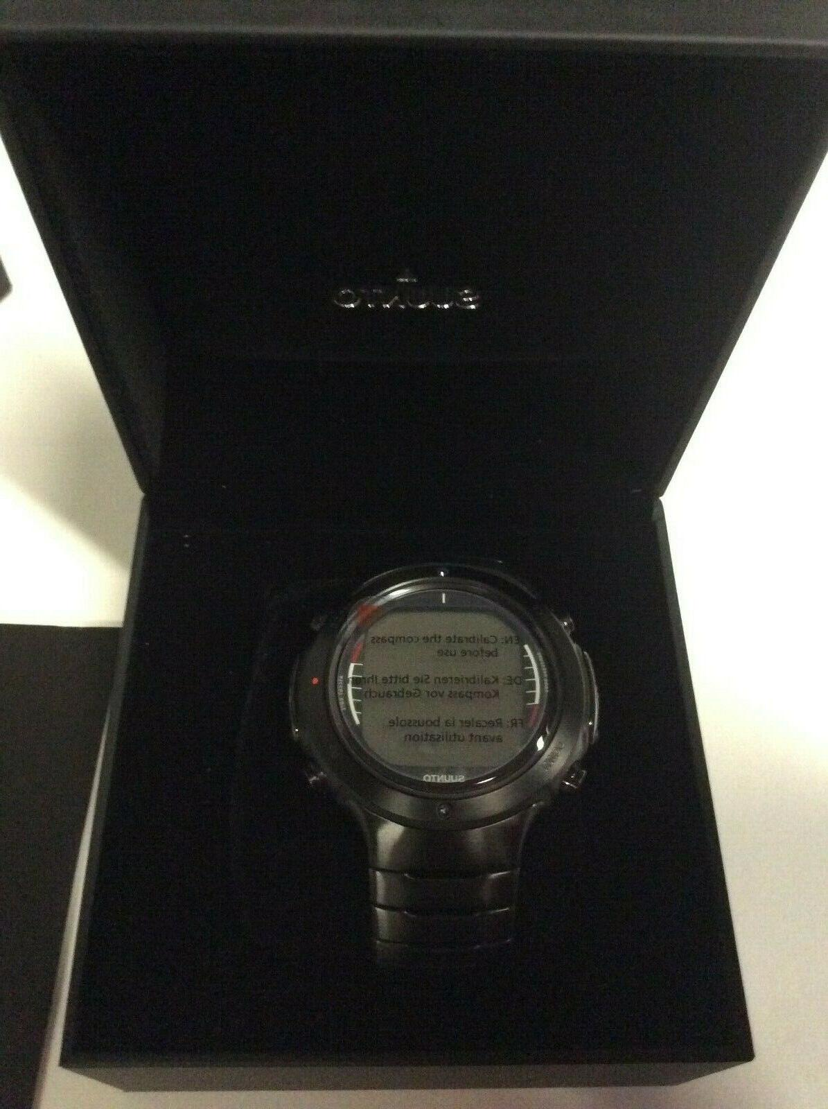 Suunto By D6i Black Steel