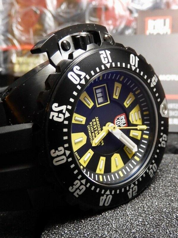 Luminox Bumble Bee 1500 100% NIB RARE Incredible Deal