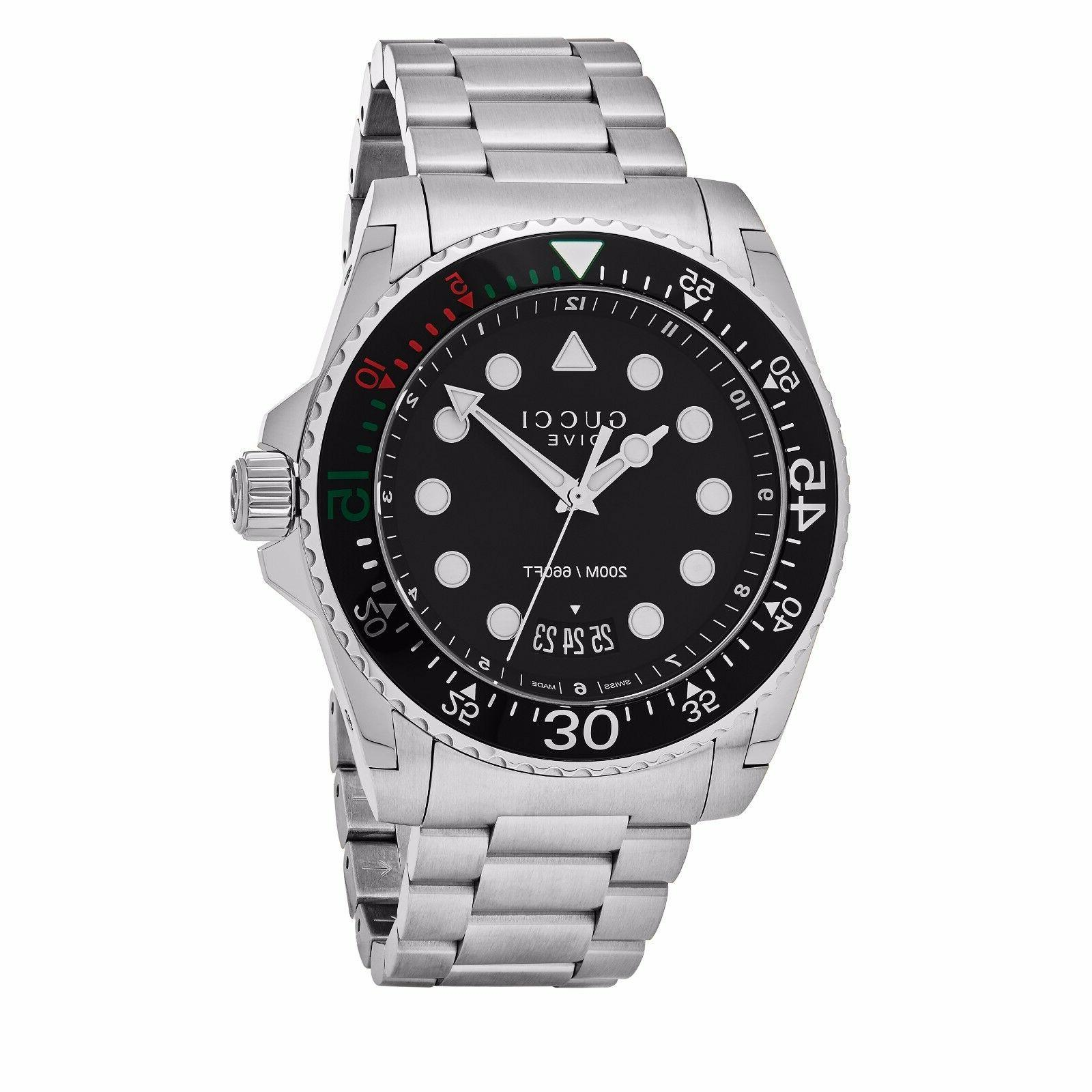 Gucci Dial Stainless Quartz Watch