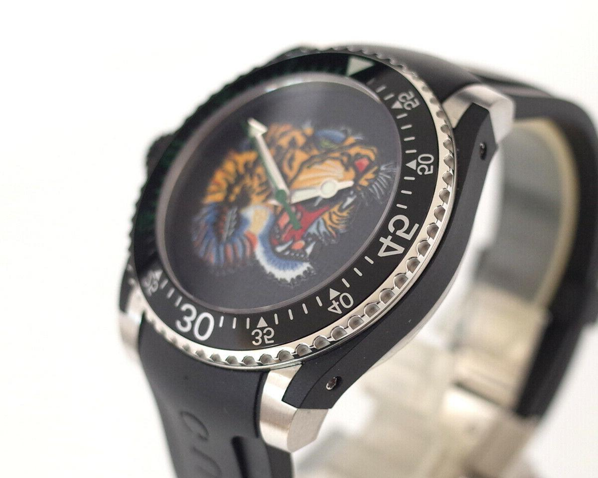 Gucci Watch - Embroidered Dial Men's