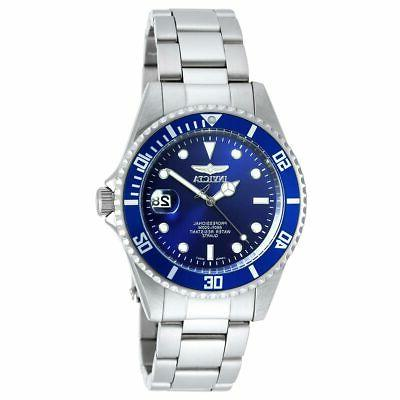 diver 9204ob silver stainless steel