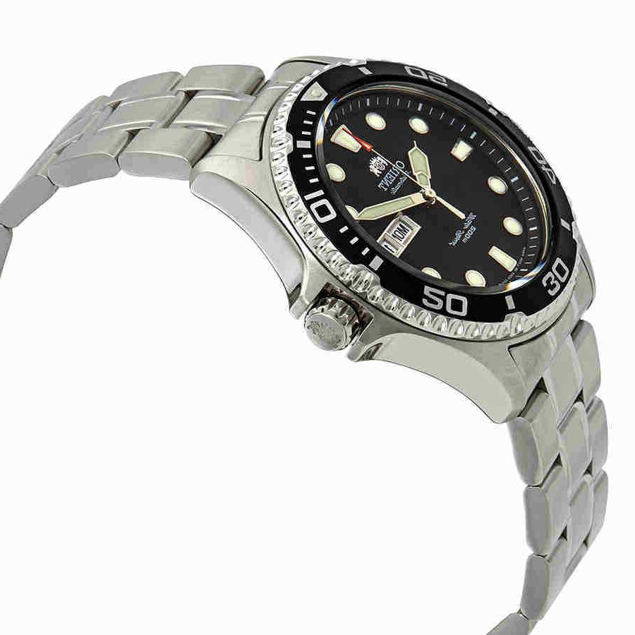 Orient Automatic Black Dial Watch FAA02004B9