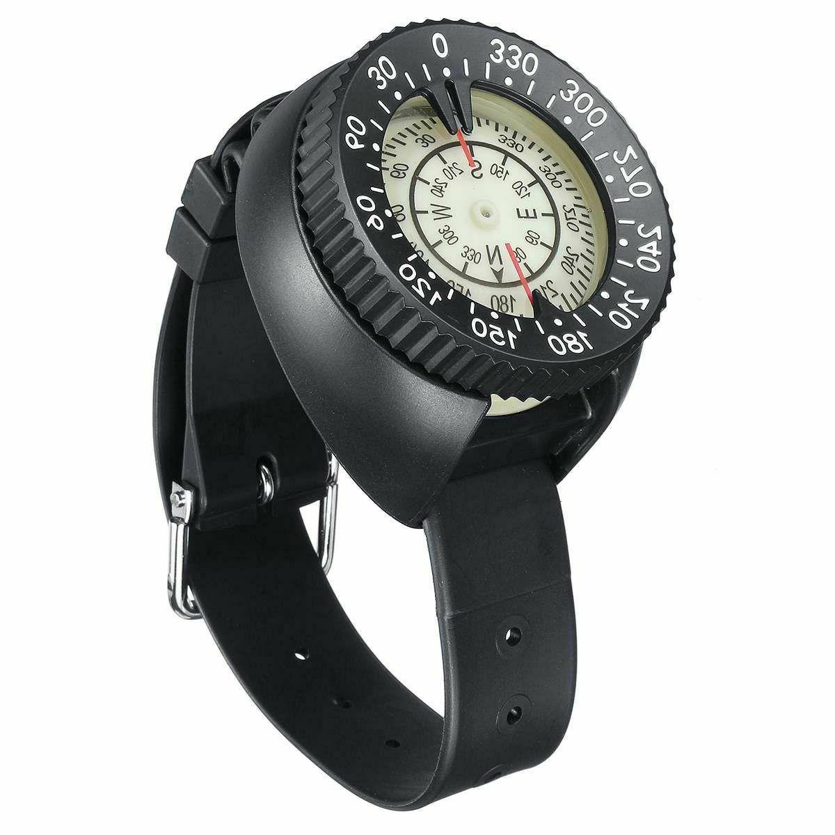 Diving Watch Compass Wrist Band Scuba Underwater Sports