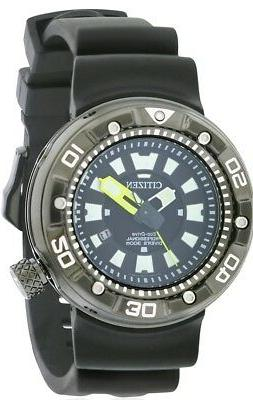 Citizen Men's Eco-Drive Black Strap Watch 48mm BN0175-19E