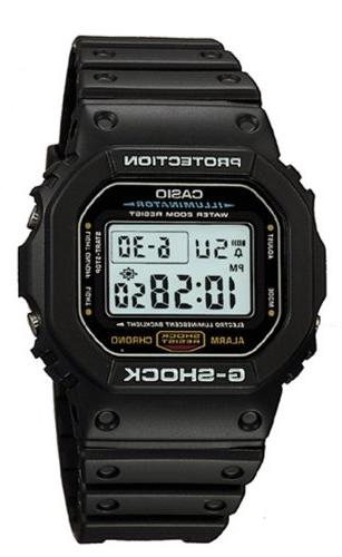 Casio Men's DW5600E-1V Shock Black Sport