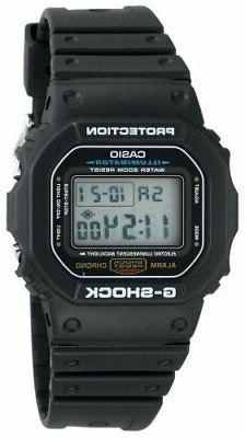 Casio Men's G-shock DW5600E-1V Shock Resistant Black Resin S