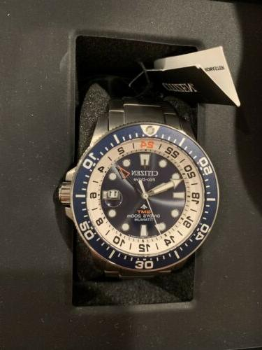 CITIZEN GMT Watch Men's