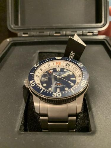 CITIZEN GMT Watch BJ7111-51L Eco-Drive Men's