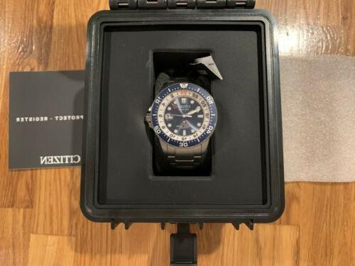 CITIZEN GMT PROMASTER Watch BJ7111-51L Eco-Drive Men's