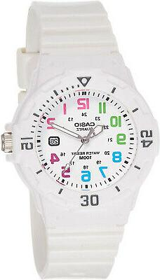 Casio Women's Dive Surf Series Sports White Dial White Strap