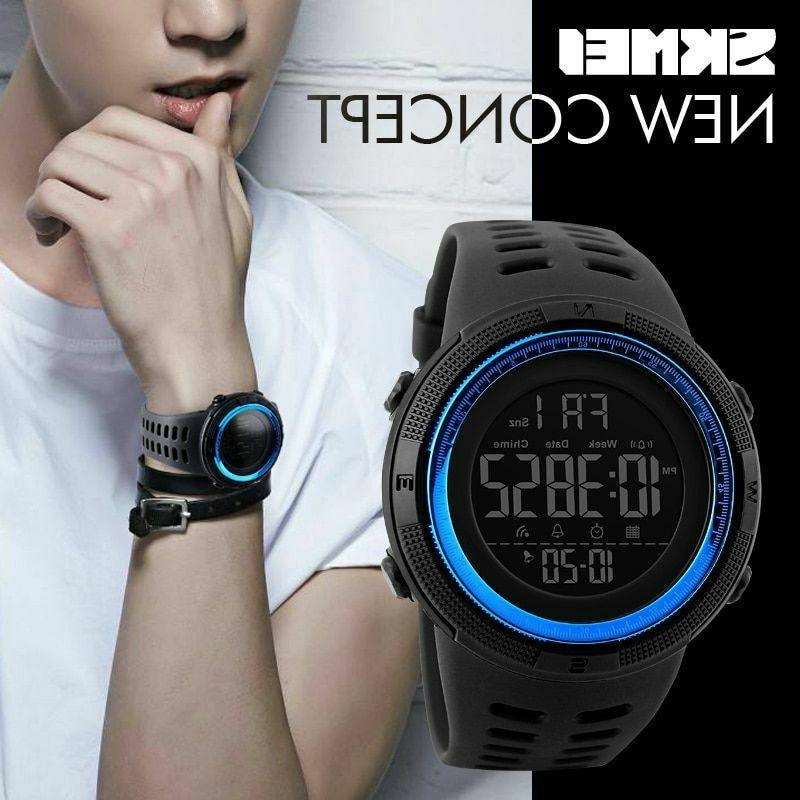 Luxury Watche Dive LED Casual Electronics Relojes