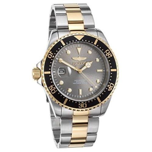 Invicta Men's Pro Grey Stainless Steel NEW!