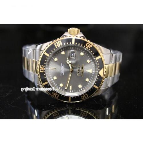 Invicta Diver Grey Two Stainless Steel NEW!
