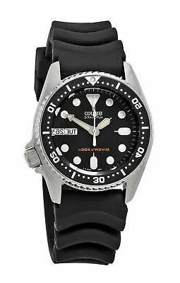 men s black automatic stainless steel