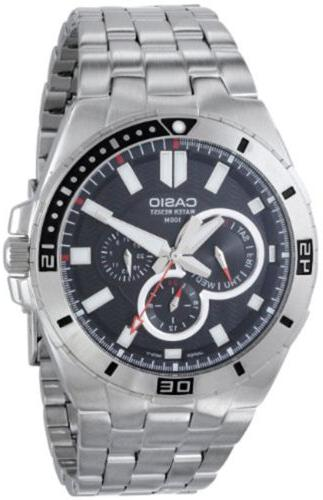 men s chronograph stainless steel dive watch