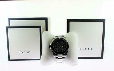 Men's Gucci Dive Stainless Steel Snake Watch YA136218
