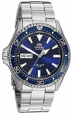 Orient Men's Kamasu Automatic Diving Watch with Stainless-St