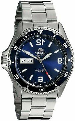 Orient Men's Mako II Japanese Automatic Stainless Steel Divi