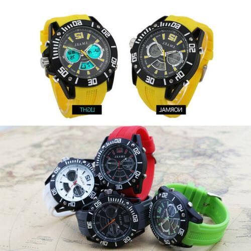 Men's Diving Timing Smart Electronic Wristwatches