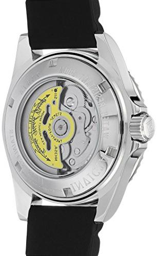 Invicta 'Pro Automatic Stainless Watch,
