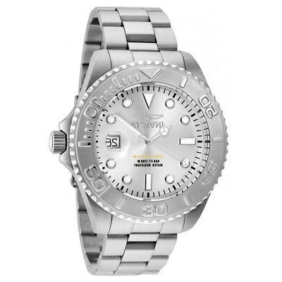 Invicta Stainless Bracelet Dive Watch