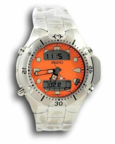 Citizen Men's Promaster Aqualand JP1060-52Y Orange Stainless
