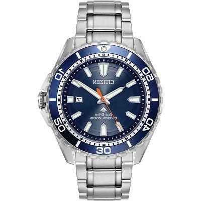 men s promaster diver 45mm stainless eco
