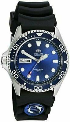 Orient Men's Ray II Rubber Automatic Stainless Steel Diving
