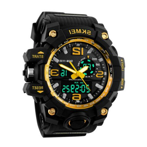 Men's Sport Watch Diving Waterproof