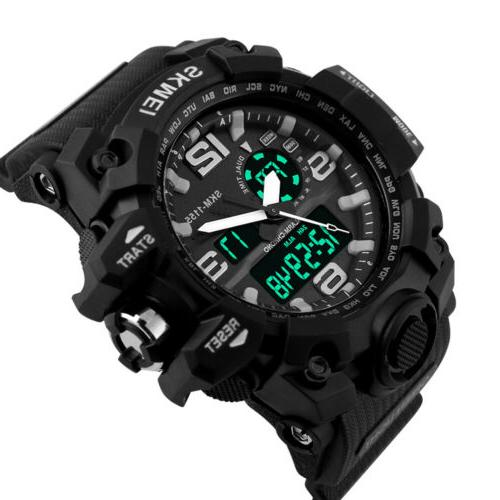 Men's Sport Wrist Watch Diving Military Analog Quartz